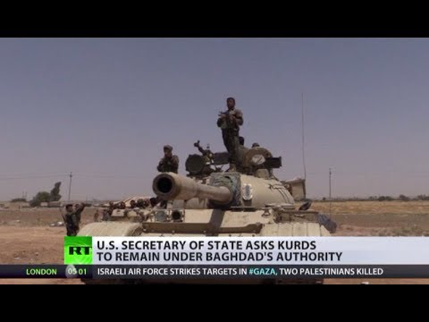 Borders Crumble: Kurds expand amid Iraq army vs ISIS combat