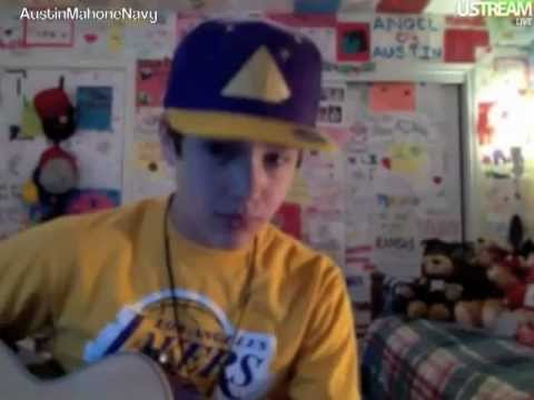 Austin Mahone USTREAM Friday March 9th 2012 Part 1 of 3 [12PM]