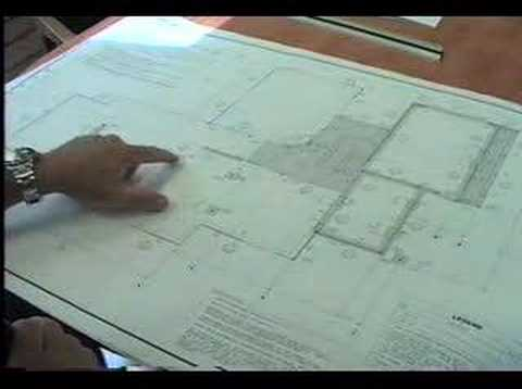 Learning to read a blueprint with thomas kern youtube for How to read construction site plans
