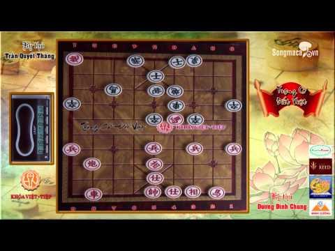 Chess Dương Đình Chung & Trần Quyết Thắng vongf1/16 Trạng cờ đất việt