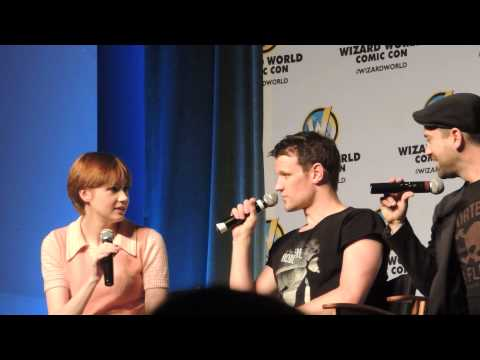 Doctor Who Panel Matt Smith & Karen Gillan Philadelphia Comic Con Part 1/3