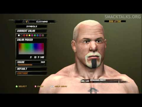 WWE '12 Scott Steiner CAW Formula by evofit