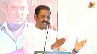 Vairamuthu, D. Imman, Suseenthiran At Paayum Puli Audio Launch