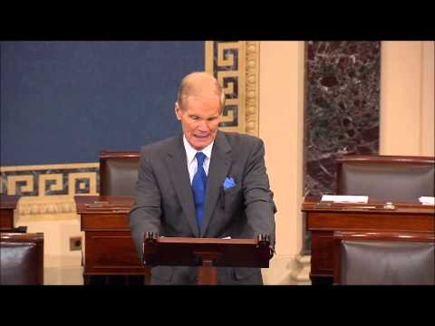 Nelson speaks about Bob Levinson on Senate floor