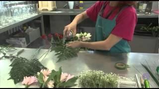 Técnicas de alambrado de flores