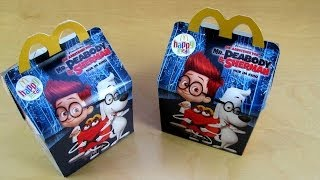 Mr. Peabody & Sherman Happy Meal Toys