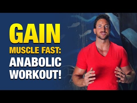 How To Gain Muscle Fast: Crazy Anabolic Workout For Skinny Guys
