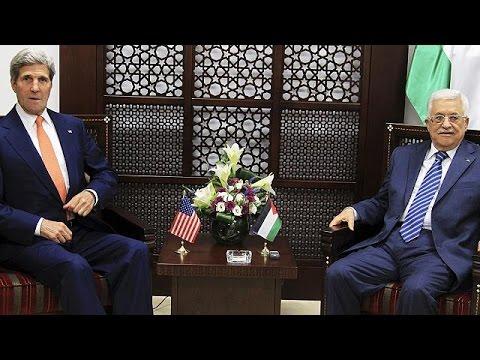 Kerry y Ban Ki-moon negocian un alto el fuego en Jerusalén y Ramala