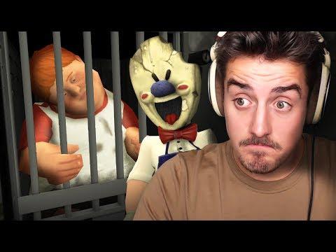 HE ATE THE FAT KID!! (Ice Scream Horror Game)