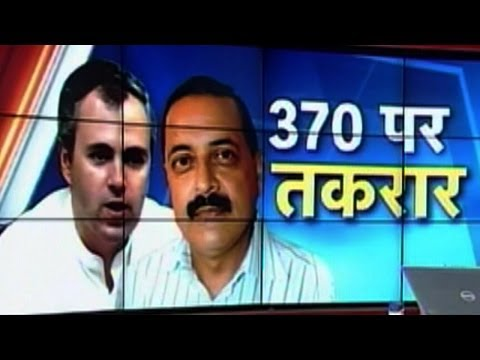 Omar v/s Jitendra Singh: War on Article 370