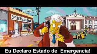 Os Simpsons Novo Trailer Legendado Em Português
