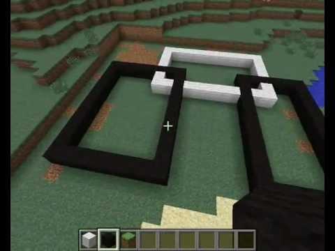 Tuto cr er une maison moderne minecraft youtube for Minecraft maison moderne