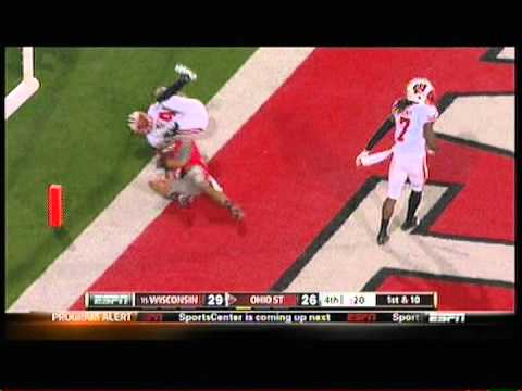 OSU's Braxton Miller Magic TD vs Wisconsin 10/29/2011