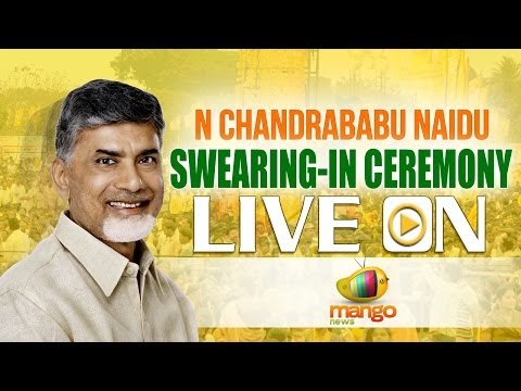 N Chandrababu Naidu swearing-in ceremony LIVE