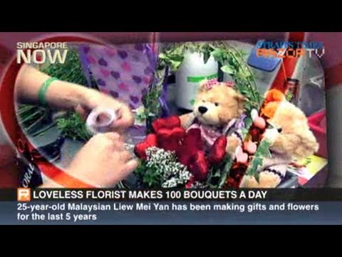 100 bouquets for Valentine's Day (V-Day flower prices Part 2)