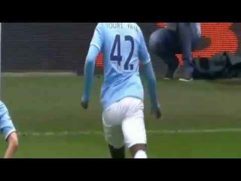 manchester city vs southampton 2014