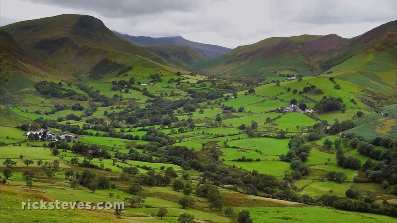 Lake District England Scenic Drive Youtube