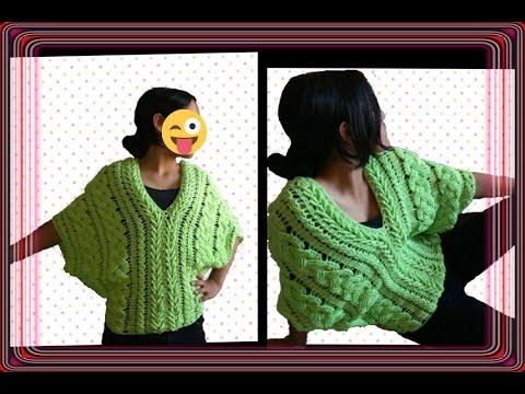 Blusa de trenzas primaverales en crochet parte 2 / linda blusa /crochet viral / punto fantasía
