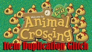 "Animal Crossing: New Leaf ""Item Duplication Trick"" (READ"
