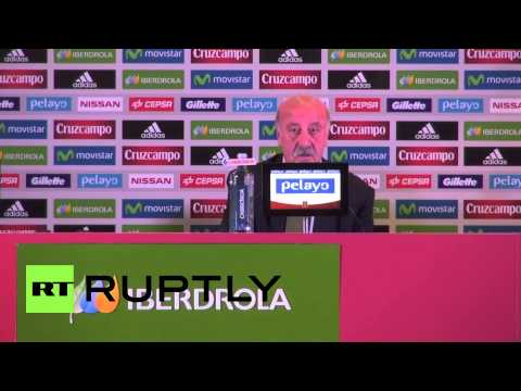 Spain: Cautious Del Bosque fails to reveal World Cup squad
