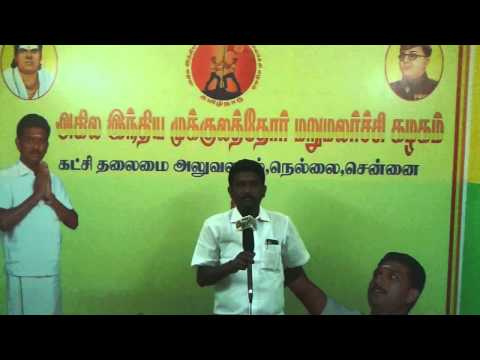 Velmurugan jayatv speech