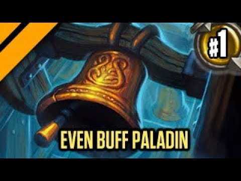 Hearthstone: Boomsday Laddering - Even Buff Paladin