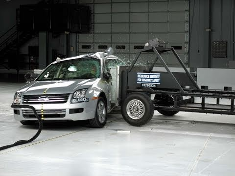 Ford fusion crash test iihs