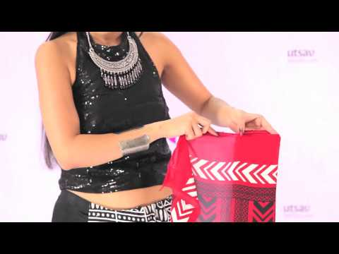 How to Wear Indowestern Style Saree in the DIY Way