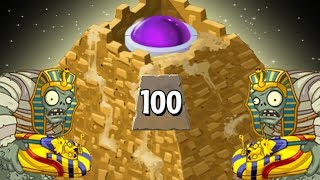 Plants Vs. Zombies 2 Pyramid Of Doom Level 100!