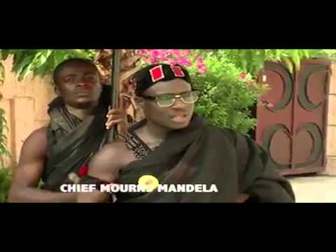 Ghanaian Chief Mourns Mandela (English) (Hilarious)