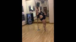 Emma Haslam Lincolnshire Pole Championships 2014 Professional