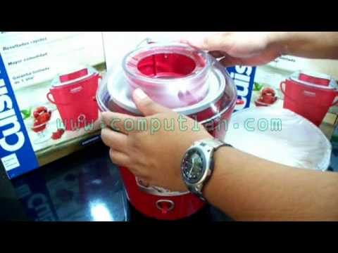 Demo Máquina de Helados Cuisinart