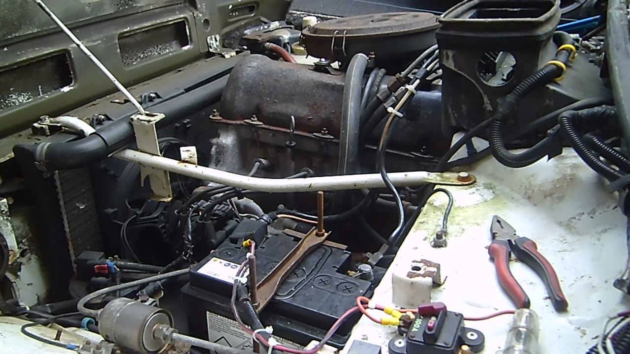 Ремонт двигателя на ниву