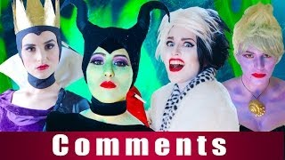 Disney Villains - The Musical feat. Maleficent (Comments)