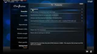 XBMC Tutorial Live TV/ Kako Gledati TV Uzivo