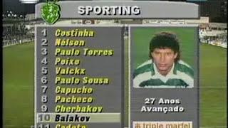 05J :: Farense - 0 x Sporting - 1 de 1993/1994