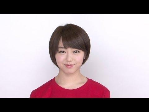 峯岸みなみコメント映像「第3回 AKB48 紅白対抗歌合戦」 / AKB48[公式]