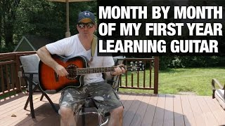 Guy Gets Guitar ,Learns to Play It