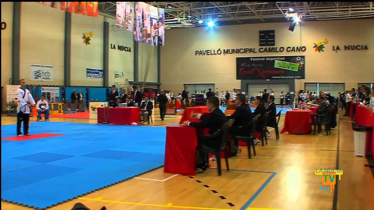 30 04 13 el xi campeonato de europa de taekwondo en la for Piscina municipal camilo cano