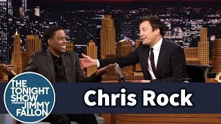 Chris Rock Gives Jimmy Two-Time Dad Advice