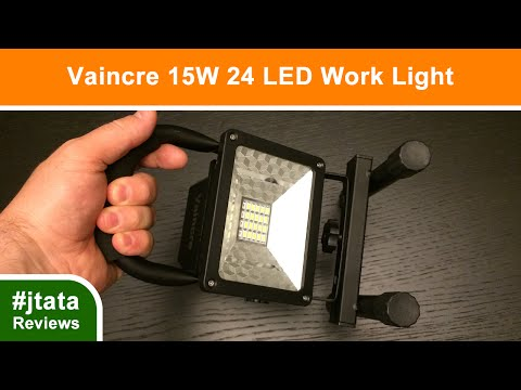 Outdoor / Camping / Work Light 15W 24 LED from Vaincre