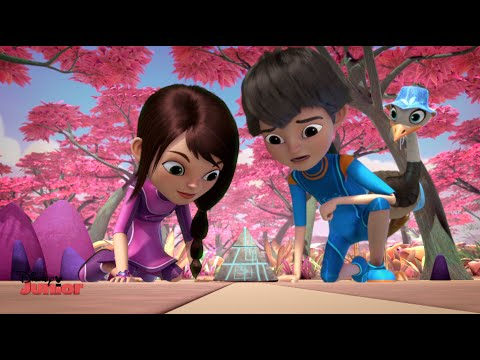 Miles From Tomorrow - Callisto Family Holiday - Official Disney Junior UK HD