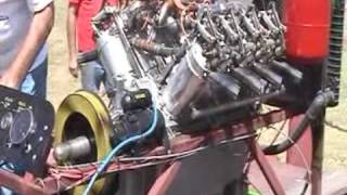 Curtiss OX-5 Engine Run 90 HP