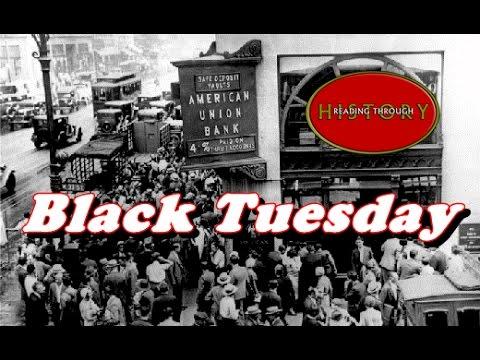 24.10.1929 -  Голямата депресия: Нюйоркската фондова борса се срива на 24 октомври, черния четвъртък, което довежда до серия от банкрути и предизвиква световна рецесия.