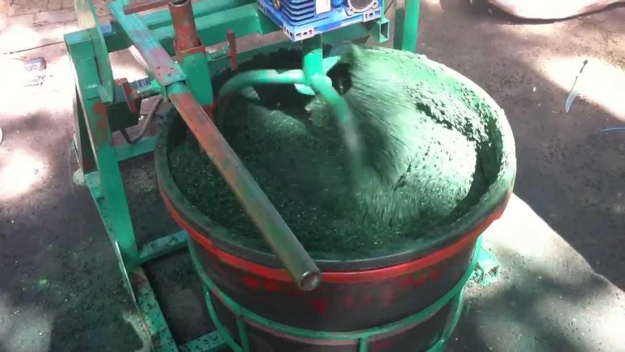 Станок для изготовления резиновой крошки