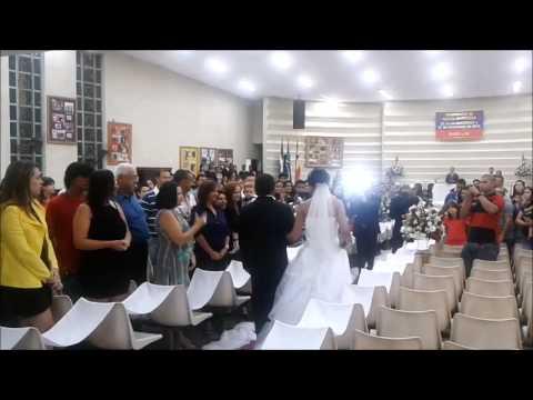 Eric Tedeschi Saxofonista Casamento Evangélico - Que bom que você chegou - Bruna Karla
