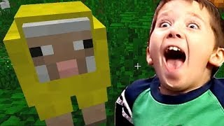 8 Year Old Jacob Playing Minecraft How To Make Carpet