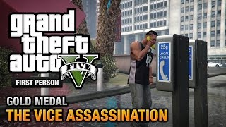 GTA 5 Mission #42 The Vice Assassination [First Person