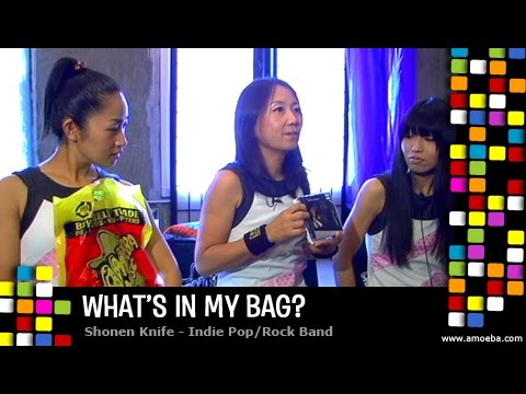 Shonen Knife - What's In My Bag?