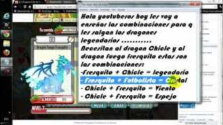 Legendarios: Espejo, Cristal , legendario , Viento En /Dragon City/ HD